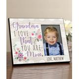 Personalized Planet Frames Lavender - 'Grandma' Personalized Picture Frame