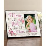 Personalized Planet Frames Pink - 'Mom' Personalized Picture Frame