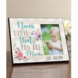 Personalized Planet Frames Blue - 'Nana' Personalized Picture Frame