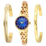 Invicta Women's Angel Quartz Watch with Stainless Steel Strap, Gold, 8 (Model: 29279)
