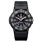 Luminox The Original Navy Seal Mens Watch Black Display (XS.3001.F/Navy Seal Series): 200 Meter Water Resistant + Light Weight Case + Constant Night Visibility