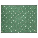 Latitude Run® Avicia Bunny Rabbit by Katelyn Elizabeth Tapestry Polyester in Green, Size 71.0 H x 83.5 W in | Wayfair
