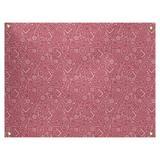 Latitude Run® Avicia RPG by Katelyn Elizabeth Tapestry Polyester in Red, Size 71.0 H x 83.5 W in | Wayfair 8F180483B43B4DA6B587B86BC4FDA92F