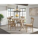 Keaton Folding Top 5PC Dining Set-Table & Four Chairs - Picket House Furnishings LCL100FT5PC