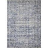 Loloi Rugs Pandora Oriental Dark Area Rug Polyester in Blue, Size 96.0 H x 60.0 W x 0.25 D in   Wayfair PANDPAN-03XD005080