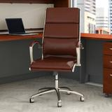 Bush Business Furniture Modelo Executive Chair Upholstered in Gray, Size 42.91 H x 24.01 W x 26.77 D in   Wayfair CH1701CSL-03