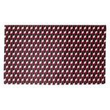Latitude Run® Avicia Geometric Red/Black Area Rug Polyester in White, Size 63.0 H x 36.0 W x 0.25 D in | Wayfair E008636A23EF45F294AC2EC3DC87F50E