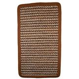 Thorndike Mills Beantown Braided Rug 4' x 4' Square Spice