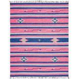 Baja Pink/Blue Area Rug - Nourison BAJ01