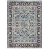 Ankara Global Teal/Multicolor Area Rug - Nourison ANR14