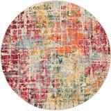 Celestial 5' Round Multicolor Area Rug - Nourison CES13