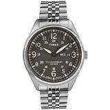 TIMEX Silver Stainless Steel Watch-TW2R89300