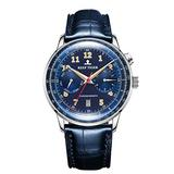 Reef Tiger RGA9122 Top Brand Men Watch Business Watches Blue Luminous Automatic Watch Waterproof