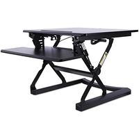 Alera AEWR1B Adaptivergo Sit-Stand Lifting Workstation, 26 3/4 X 31 X 19 5/8, Black