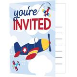 Creative Converting Toy Airplane Disposable InvitationsPaper | Wayfair DTC332213INV