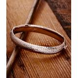 Lyric Sterling Women's Bracelets silver - Sterling Silver Texture Bracelet