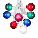 The Party Aisle™ Patio 100 ft. 125-Light Globe String Lights in White   Wayfair CF7AC043EC8549CAB0111D43DD075952