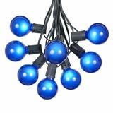 The Party Aisle™ Patio 100 ft. 125-Light Globe String Lights in White   Wayfair F1381C3B296647FB8971D976459C2FF1