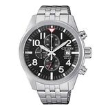 Citizen Men's Quartz Stainless Steel Wr100 AN3620-51E Silver Stainless-Steel Japanese Fashion Watch