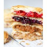 Mamie's Pies Desserts - Apple Pumpkin Blueberry & Cherry Home for the Holiday Pies - Set of 12
