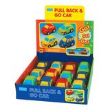 Megcos Toy Cars and Trucks - Pull Back & Go Car - Set of 12