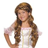 Rubie's Girls' Costume Wigs - Brown Enchanted Princess Wig