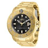 Invicta Men's Pro Diver Automatic Watch with Stainless Steel Strap, Gold, 26 (Model: 29354)