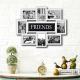 Red Barrel Studio® Geffrey Family Selfie Gallery Collage Wall Hanging Picture Frame Plastic in White, Size 17.0 H x 22.0 W x 1.0 D in | Wayfair