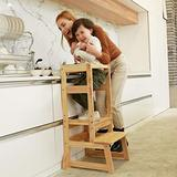 SDADI Adjustable Height Kitchen Step Stool,Kids Learning Stool,Mothers' Helper LT05N
