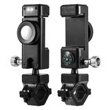 Universal Bike Phone Mount Holder With LED Light ,Black For Droid Turbo Ballistic Nylon