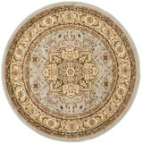 """""""Lyndhurst Collection 5'-3"""""""" X 5'-3"""""""" Round Rug in Red And Black - Safavieh LNH331B-5R"""""""
