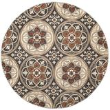 Lyndhurst Collection 4' X 6' Rug in Green And Ivory - Safavieh LNH553-5212-4