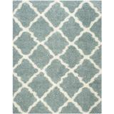 """""""Dallas Shag Collection 8'-6"""""""" X 12' Rug in Seafoam And Ivory - Safavieh SGD257C-9"""""""