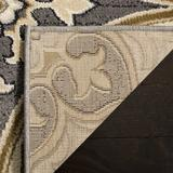 Lyndhurst Collection 8' X 11' Rug in Green And Ivory - Safavieh LNH553-5212-8