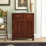 Andover Mills™ 2 Door Accent Cabinet Wood in Brown, Size 36.0 H x 29.25 W x 15.875 D in | Wayfair E4873D712DC948F7847D43C56A55C7FF