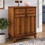 Andover Mills™ Presswood 2 Door Accent Cabinet Wood in Brown, Size 36.0 H x 29.25 W x 15.88 D in | Wayfair A1897CA0D44C4FFEAA1FAF2B5EA7D17C