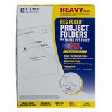 C-Line Products Folders - Recycled Reduced Glare Sheet Protector - Set of 25