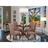 East West Furniture Dining Room Furniture, Mahogany