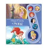 Phoenix International Girls' Sound and Electronic Books - Disney Princess Once Upon a Song Music Activity Book