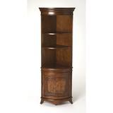 Fleur De Lis Living Richview Curio Cabinet Wood in Brown, Size 73.0 H x 24.0 W x 17.0 D in   Wayfair FDLL5004 41922808