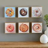 Doughnut Art Portrait