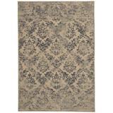House of Hampton® Doretha Floral Hand Braided Area Rug Polyester/Cotton in Brown, Size 63.0 W x 0.5 D in | Wayfair E900E7F643B84FE2BCFE12728BA1DA5A