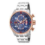 Invicta Men's Watches - Blue Aviator Quartz Chronograph Watch