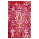 """""""Jaipur Living Zenith Indoor/ Outdoor Ikat Pink/ Orange Area Rug (5'3""""""""X7'6"""""""") - RUG142932"""""""