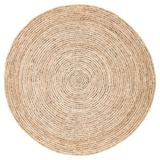 Jaipur Living Hastings Natural Solid Beige/ Gray Round Area Rug (8'X8') - RUG143090