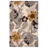 Jaipur Living Petal Pusher Handmade Floral Multicolor/ White Area Rug (5'X8') - RUG100542