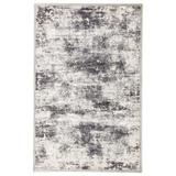 """""""Jaipur Living Trista Abstract Gray/ White Area Rug (7'6""""""""X9'6"""""""") - RUG141743"""""""
