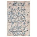 Jaipur Living Margate Handmade Oriental Light Gray/ Blue Area Rug (5'X8') - RUG143157