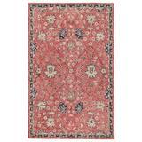 Jaipur Living Emersen Handmade Oriental Red/ Blue Area Rug (8'X10') - RUG143991