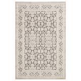 Jaipur Living Regal Damask Gray/ White Area Rug (12'X15') - RUG139681